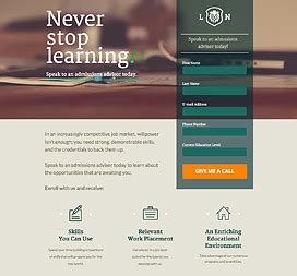 landing pages template unbounce mobile responsive landing page templates