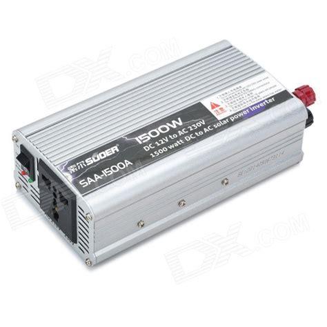 Power Inverter Suoer 1500 Watt suoer saa 1500a 1500w dc 12v to ac 230v power inverter silver free shipping dealextreme