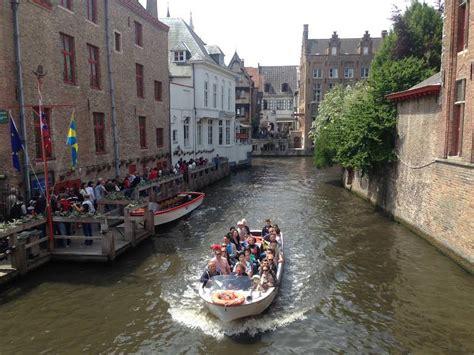 boat tour in bruges tainotrails belgium bruges