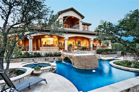 home with pool custom home photo gallery sterling custom home in tx