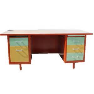 Buy Upholstery Fabric Online Mcdowell Amp Craig 69 Quot Vintage Steel Tanker Desk Vintage