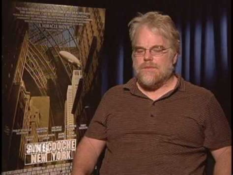 philip seymour hoffman synecdoche philip seymour hoffman ans synecdoche interview youtube