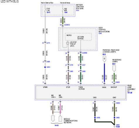 led bliss light wiring diagram ford f150 forum