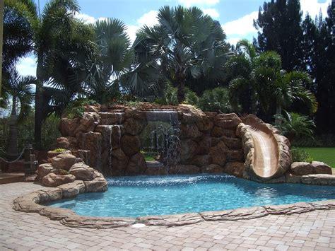backyard pools with waterfalls exterior design swimming pool home design wonderful