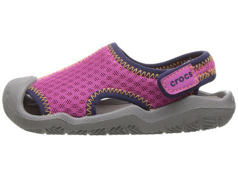 croc sandals toddler crocs swiftwater sandal toddler kid zappos