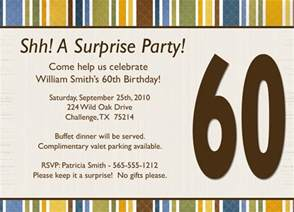 surprise birthday invitation wording template best