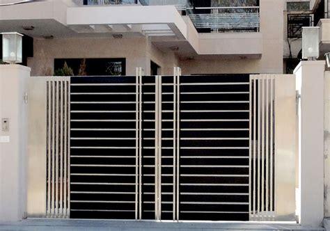modern door gate design glimpse  homes character