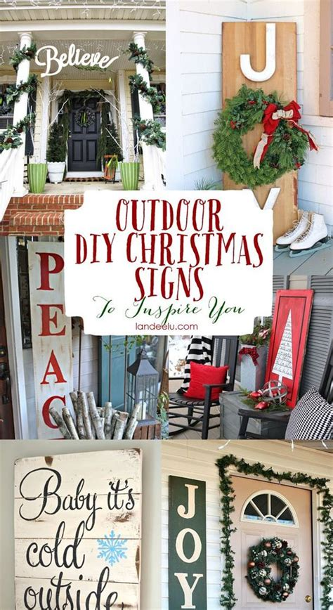 christmas signs outdoor christmas and signs on pinterest