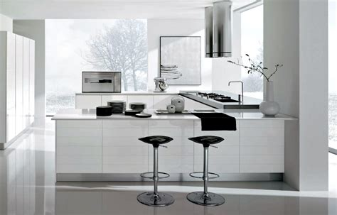 modern white home decor white kitchens