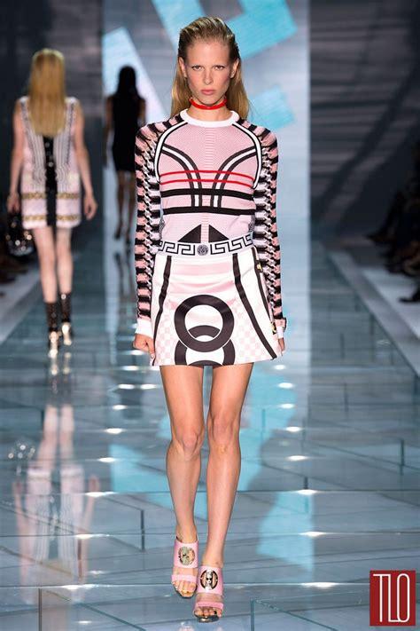 Milan Fashion Week Day Up by Versace 2015 Collection Tom Lorenzo