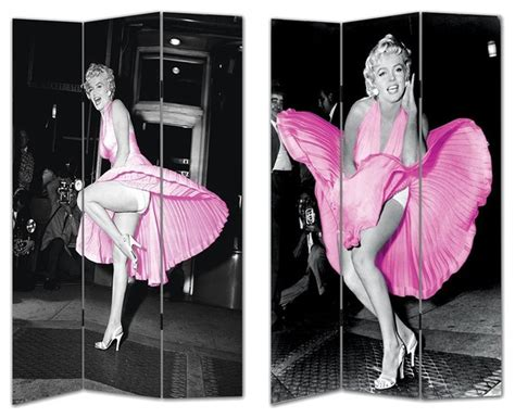 marilyn room divider marilyn in pink room divider contemporary