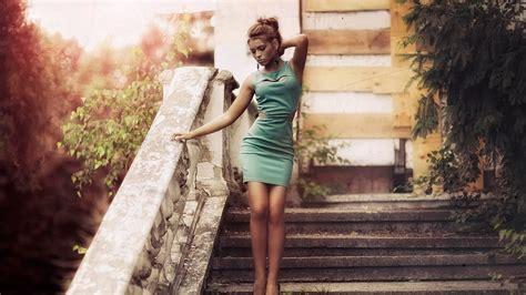 wallpaper girl vintage green dress girl vintage wallpaper 1920x1080 full hd