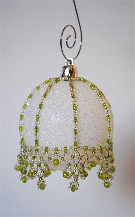 2351 best beaded christmas ornaments images on pinterest