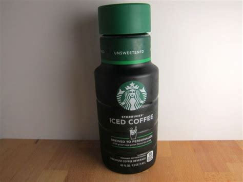 Review: Starbucks   Bottled Unsweetened Iced Coffee   Brand Eating