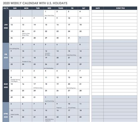 excel yearly calendar excel calendar template