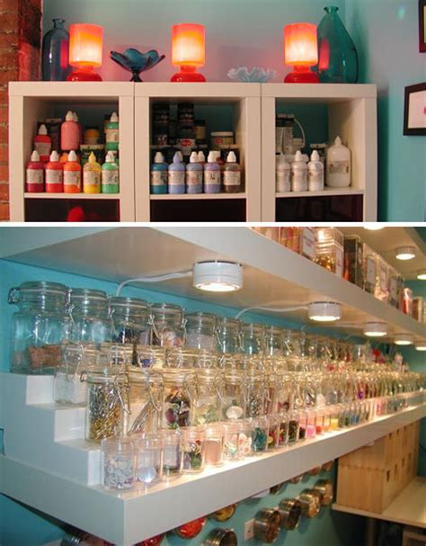 cheap craft room ideas crafts room uses cheap space saving solutions