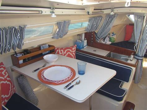 sailboat ideas lovely decor upgrades to a catalina 22 beautiful