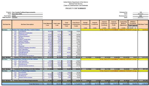 September 2017 Emerald Aace 2017 Weekly Blog Cost Estimate Template
