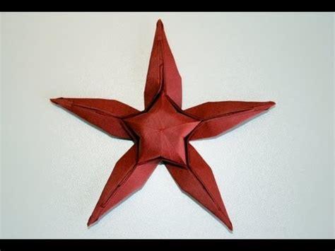 Origami Starfish - origami etoile de mer starfish senbazuru