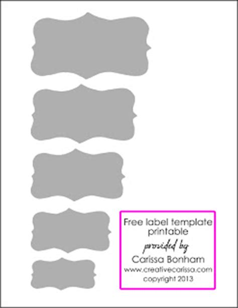 Organize Your Pantry With Glass Jars And Contact Paper Plus Free Printable Creative Green Small Label Template