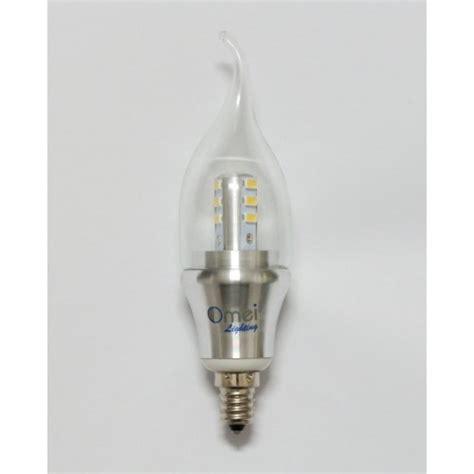 Dimmable 6 Pack Omailighting E12 6w Led E12 Candelabra Candelabra Led Light Bulbs
