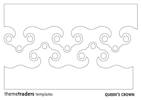 free printable tiara template best photos of crown print out crown template