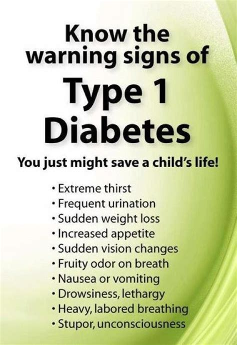 my son has diabetes how do i know if my child has diabetes everyone should know the warning signs of t1 diabetes
