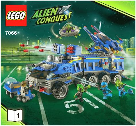 lego alien tutorial space alien conquest lego earth defense hq instructions