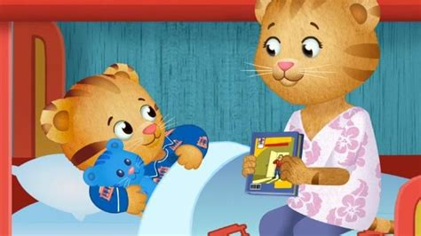 daniel tiger bed play danieltiger s my bedtime game to prepare your