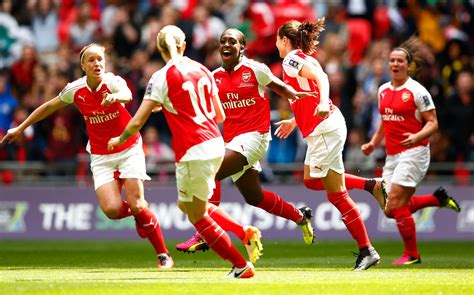 arsenal ladies arsenal ladies beat chelsea to win 2016 women s fa cup