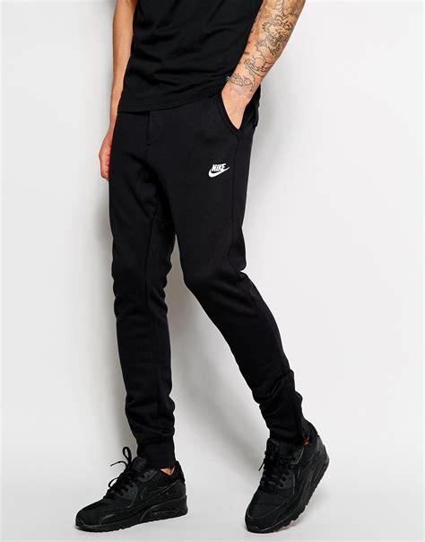 Celana Jogger Pant Nike Sweatpant Nike nike v442 joggers in black for lyst