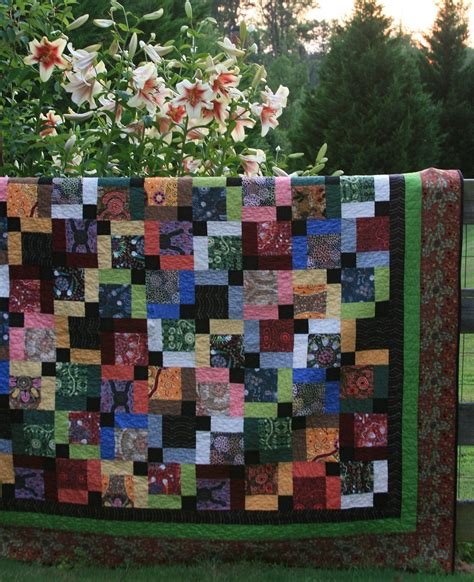 How To Make Quilt Borders by Framing With Quilt Borders