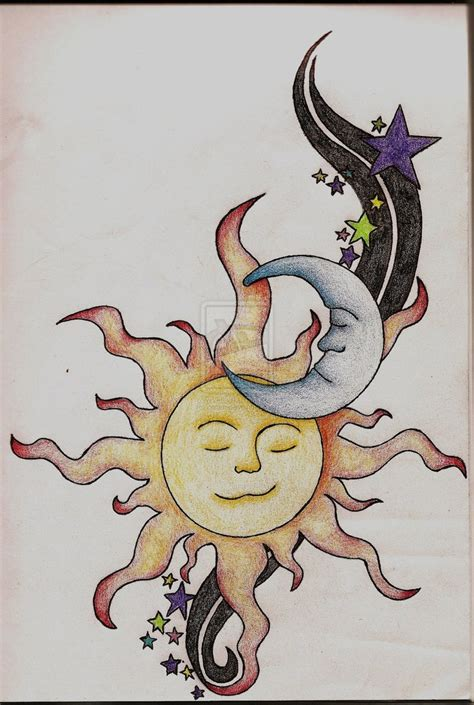 tattoo designs sun moon stars designs by hildebrandt compi