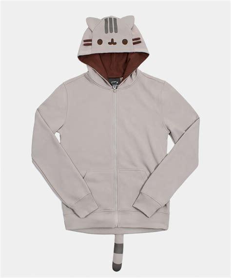 Hoodie Jaket Sweater One Of A Keren pusheen unisex costume hoodie hey chickadee