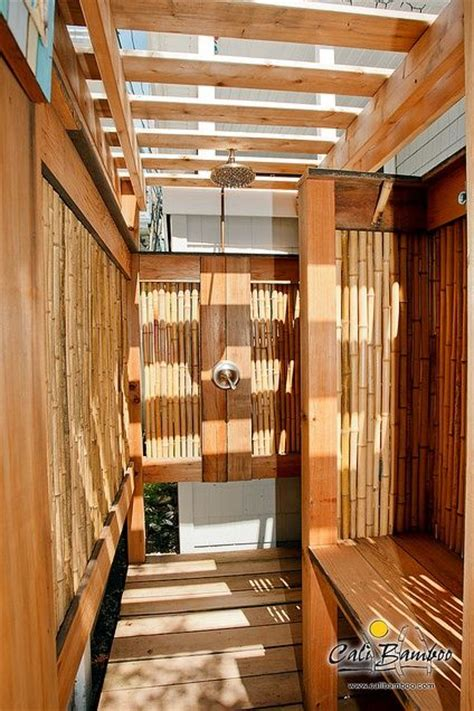 Bamboo Shower by Bamboo Shower Outdoor Ideas