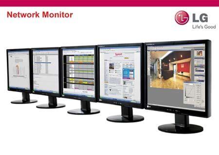 Lg Network Monitor lg lan 231 a network monitor para conex 227 o em rede clube da inform 225 tica
