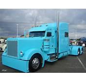 HD Truck Peterbilt Custom Big Rig Semi Tractor Photos