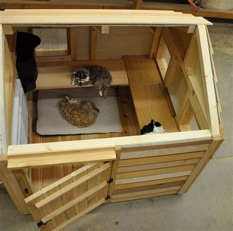 Super Cat Cottage 36 X 37 Interior Ledges Escape Hatch