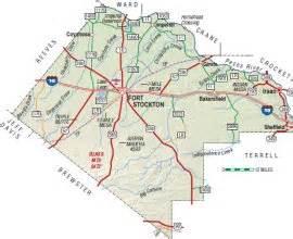 pecos county map state historical association tsha a digital