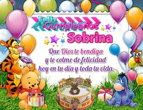 imagenes happy birthday sobrina felicitar a una sobrina por su cumplea 241 os con mensajes