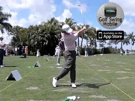 rory mcilroy slow motion golf swing a slow motion look at rory mcilroy s driver swing in 2012