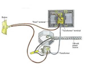 single doorbell wiring single wiring how to wire a doorbell adding a 2nd doorbell chime and