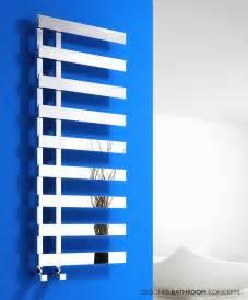 florina designer vertical dual fuel heated towel rails