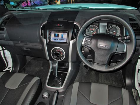 isuzu dmax interior isuzu malaysia breaks out the d max beast autoworld com my