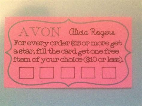Avon Gift Card - avon loyalty card youravon com aliciarogers cricut sophie s avon pinterest