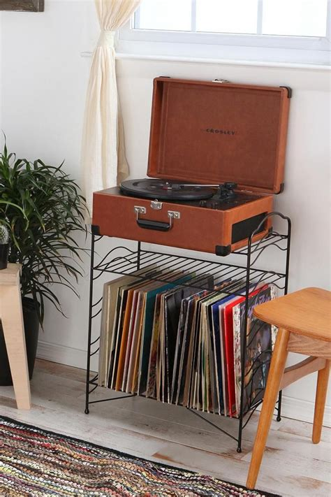 record player storage vinyl record storage shelf urban outfitters vinyls and sleep