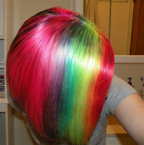 what color can i dye my hair how i dye my hair rainbow