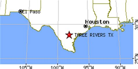 three rivers texas map three rivers texas tx population data races housing economy