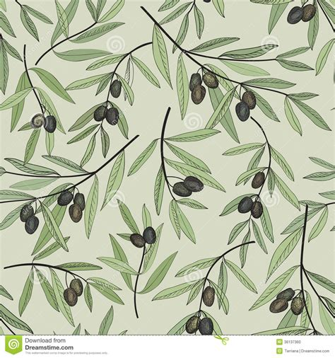 patterns in nature fashion olive seamless pattern floral nature food ingredient old