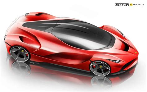 ferrari laferrari sketch ferrari laferrari concept development sketch 25